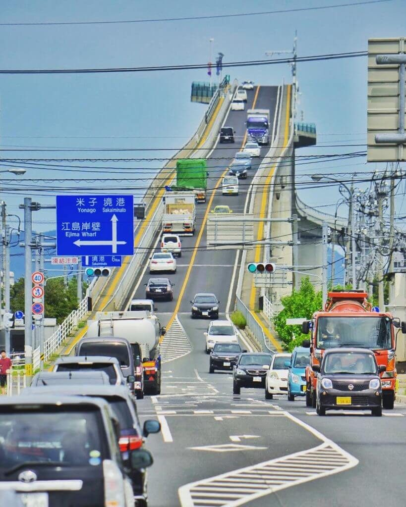 15. Eshima Ohashi Bridge, Japan