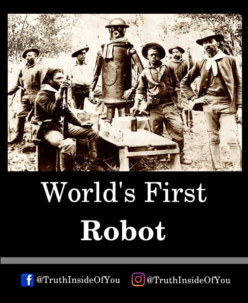 18. World's First Robot