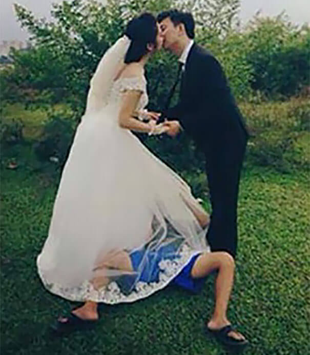 24. You need a crazy photographer to give you this type of memorable wedding visuals.-2