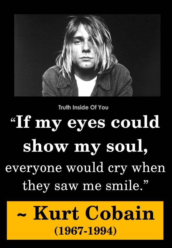 28. Kurt Cobain (1967-1994)