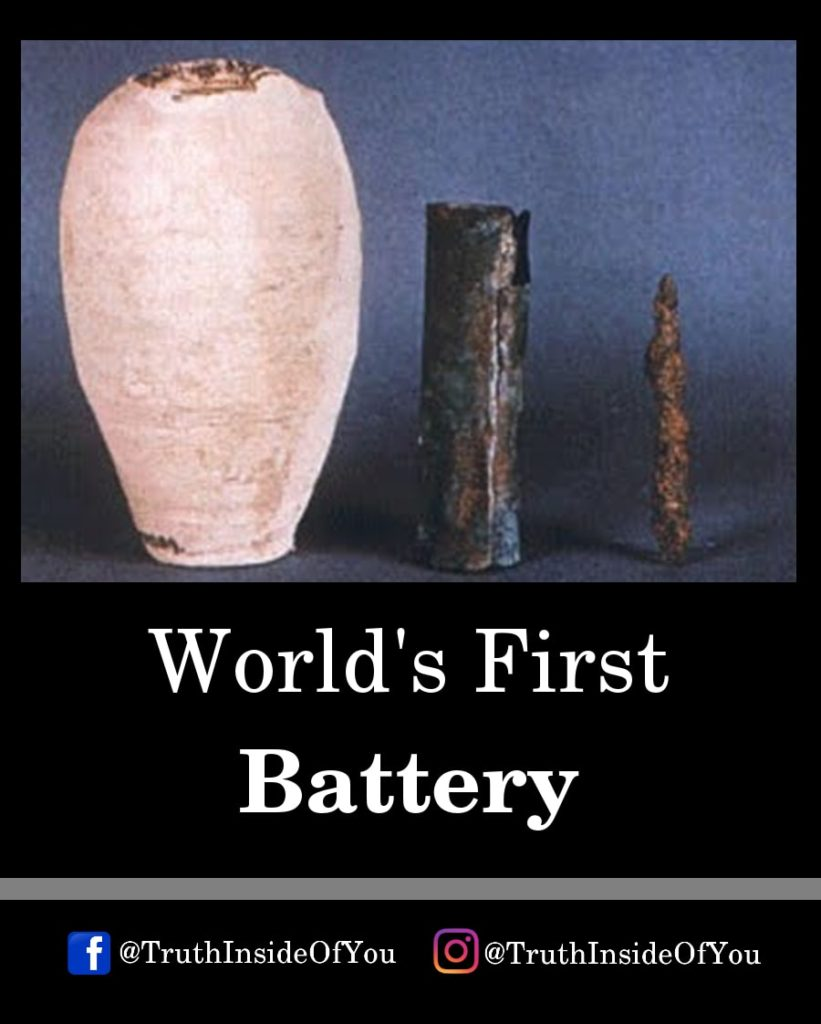 3. World's First Battery