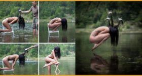 30 Before And After Editing Pictures Reveal That Photography Is A Big Beautiful Lie