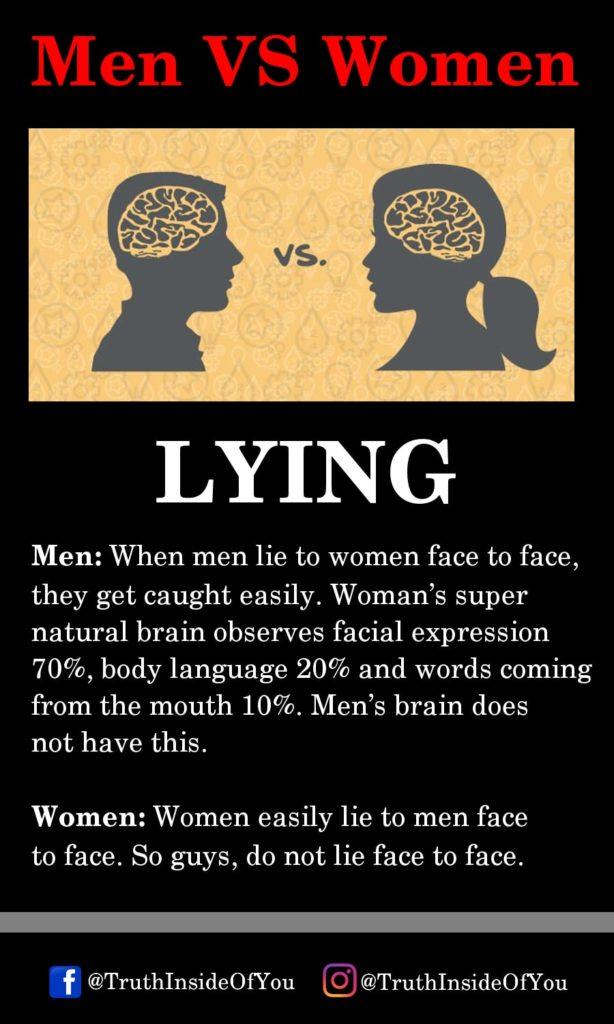 5. LYING