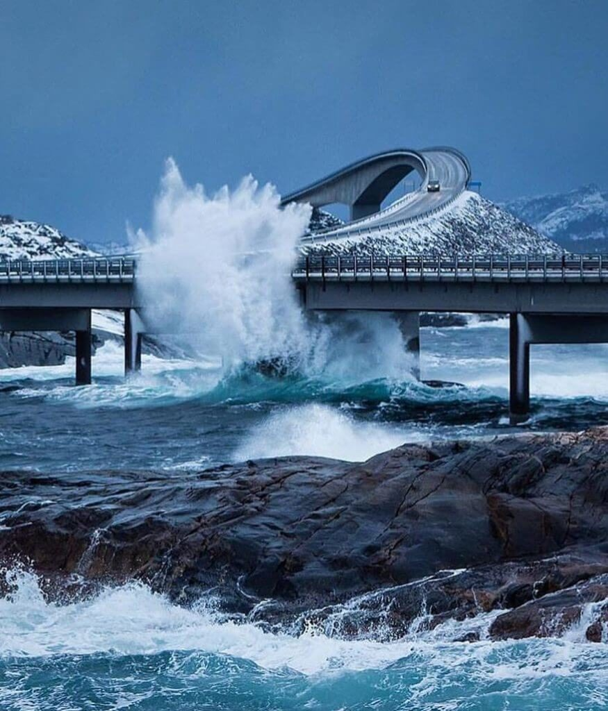 6. Atlantic Ocean Road, Norway