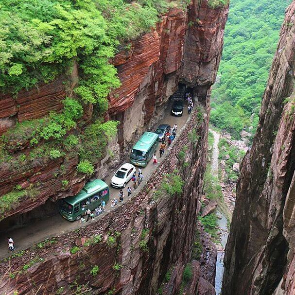 7. Guoliang Tunnel, China