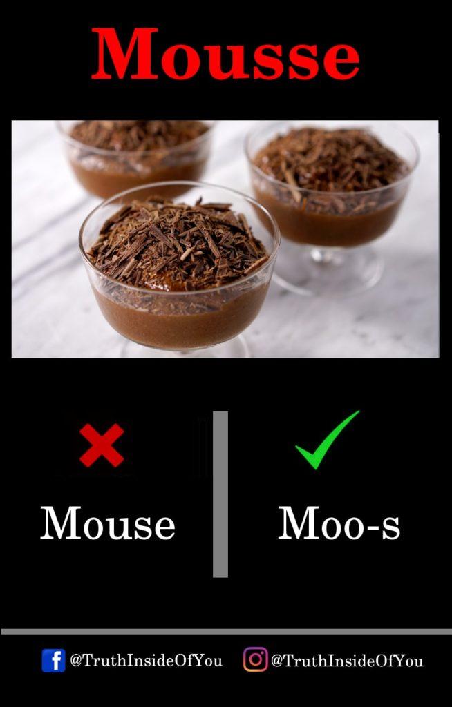 8. Mousse