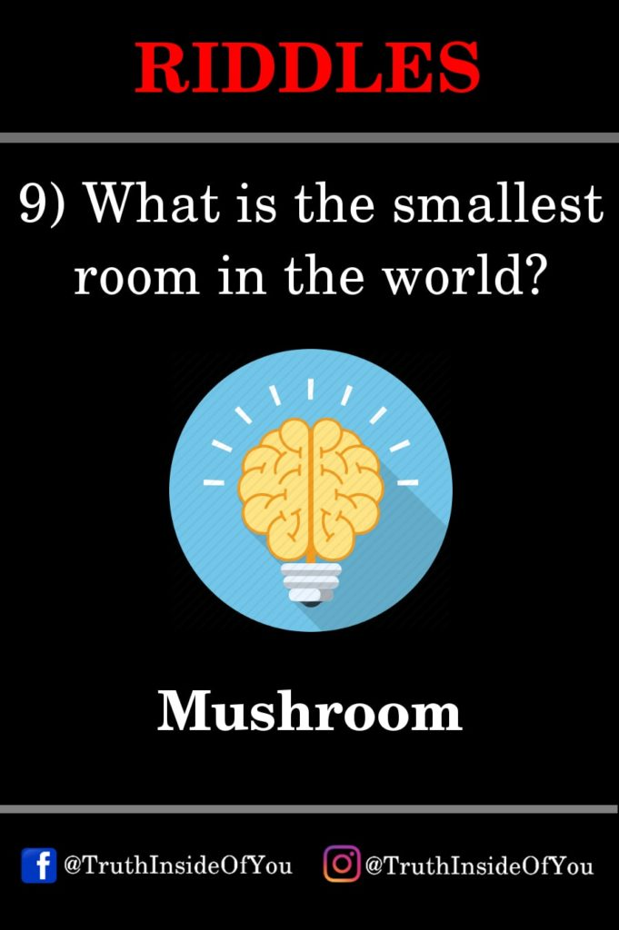 9. What is the smallest room in the world