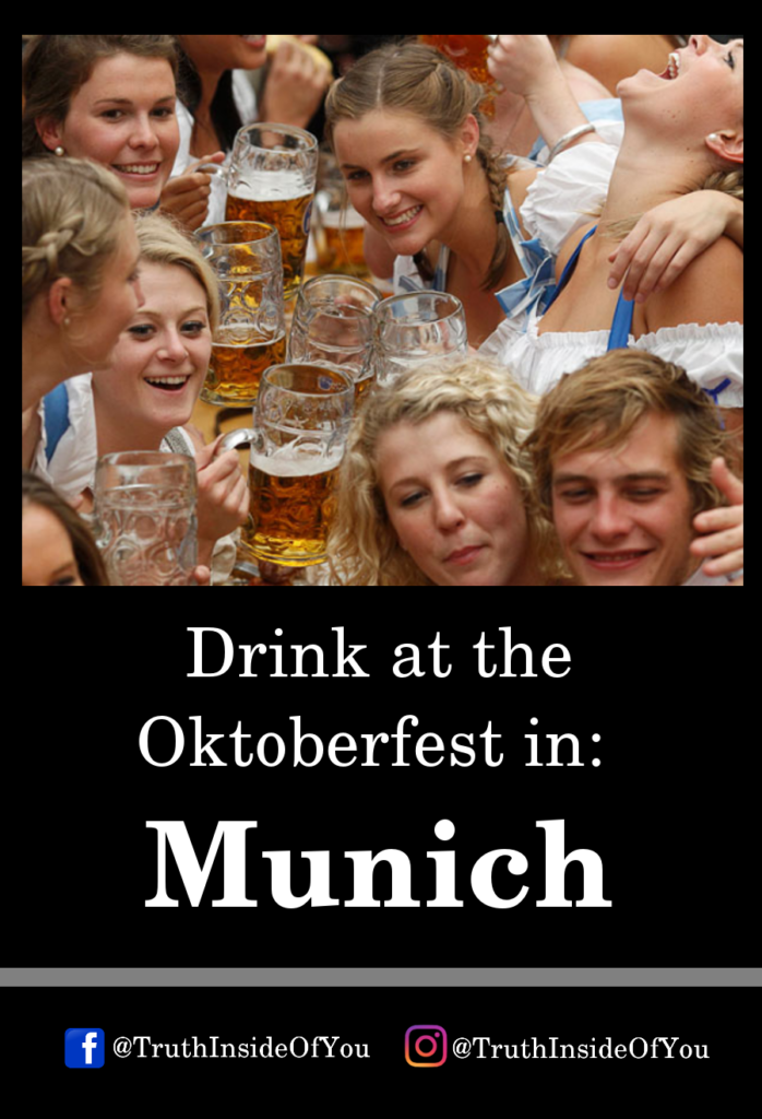 Drink at the Oktoberfest in_ Munich