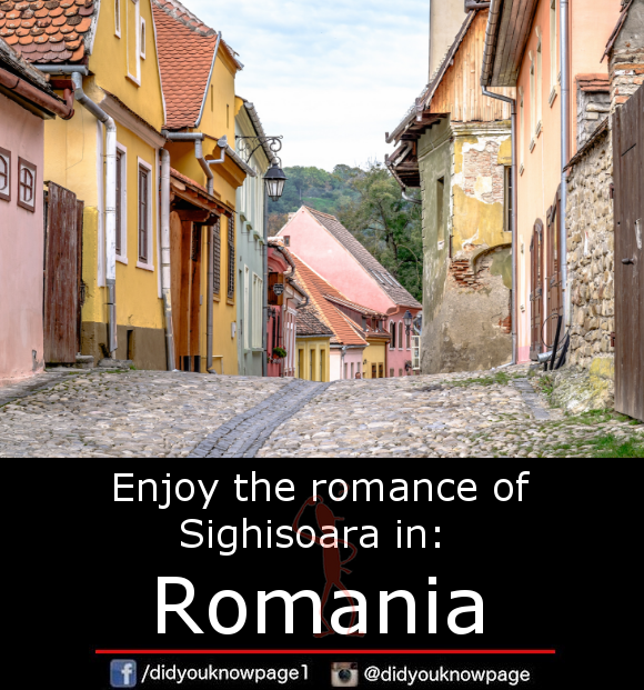 Enjoy the romance of Sighisoara in_ Romania