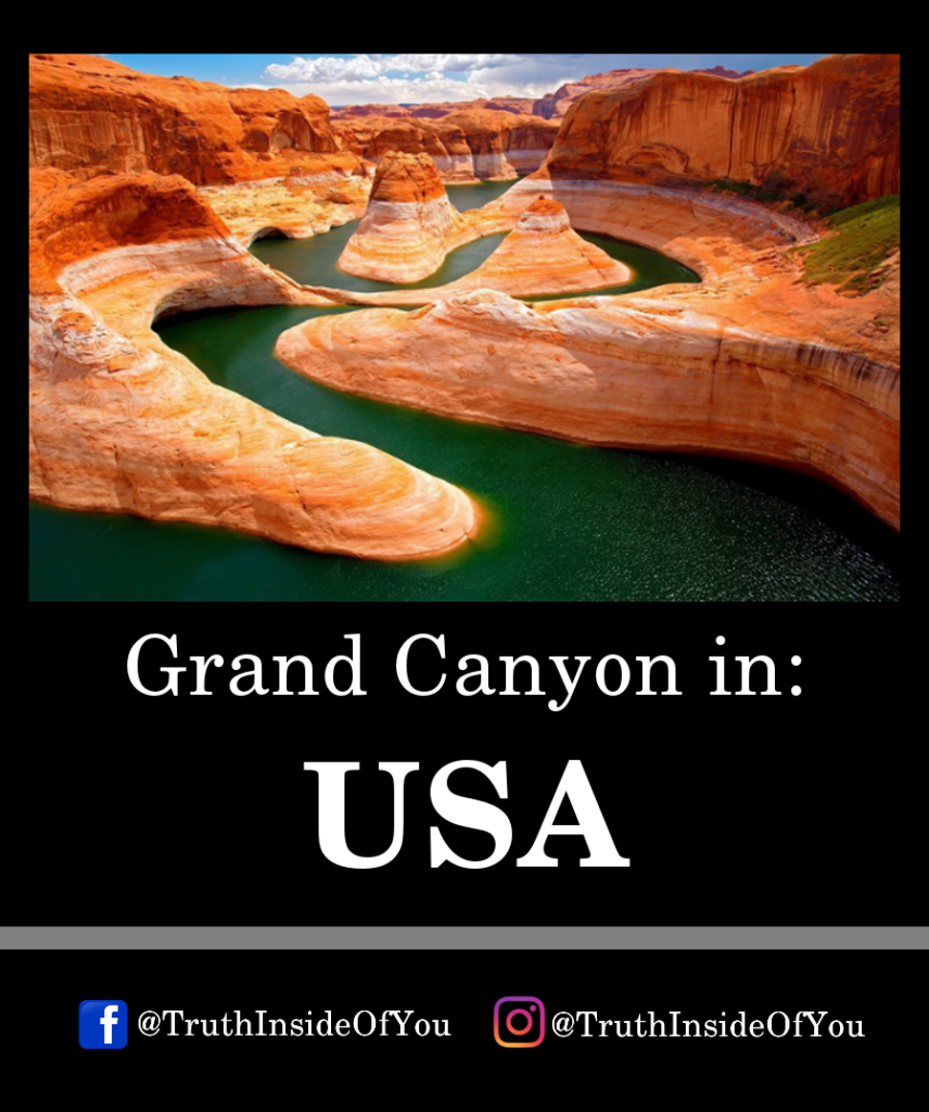 Grand Canyon in_ USA
