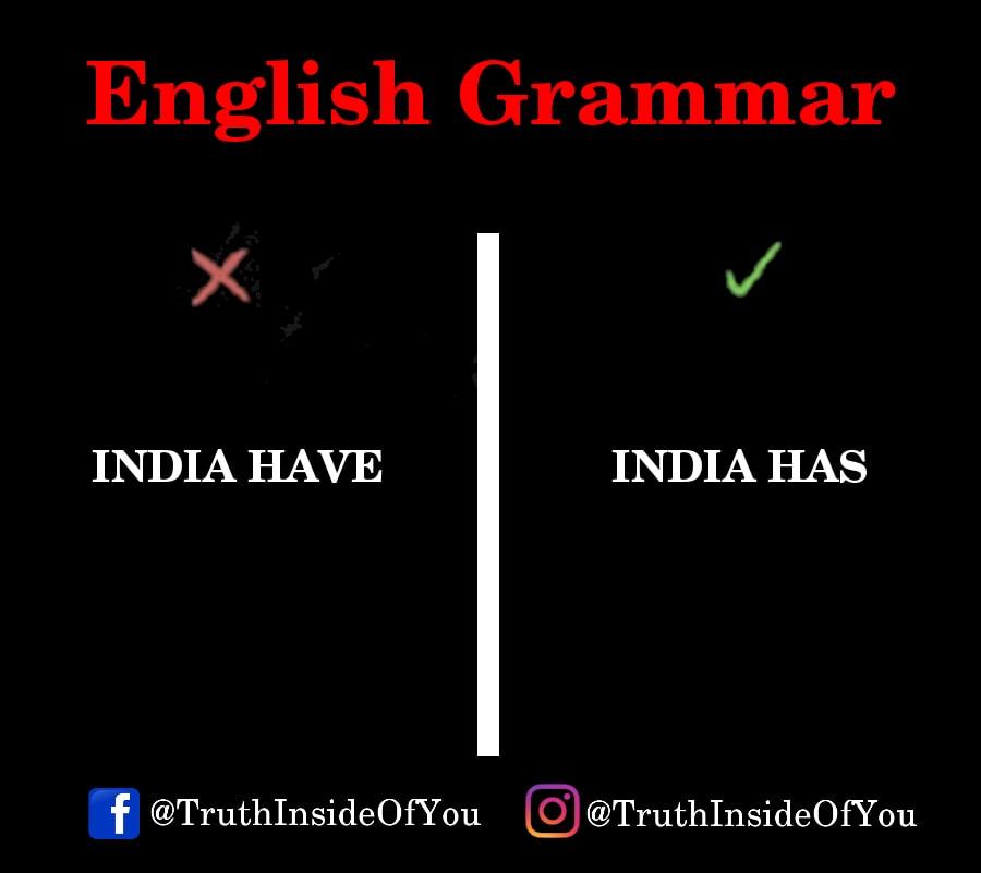 INDIA HAS