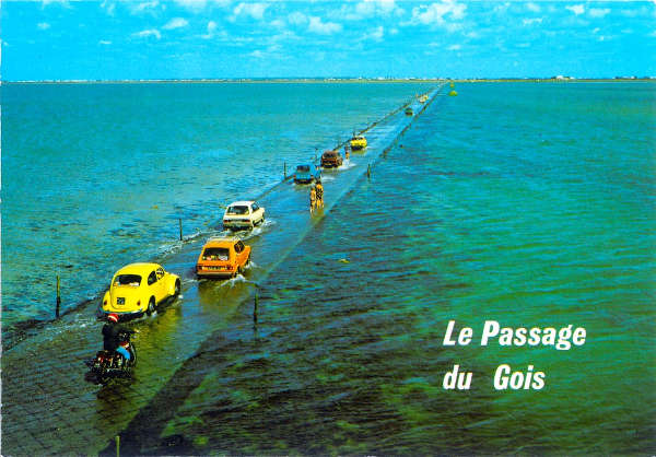 Le Passage du Gois, France