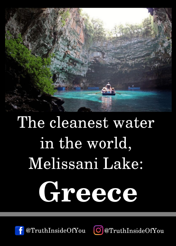 The cleanest water in the world, Melissani Lake_ Greece