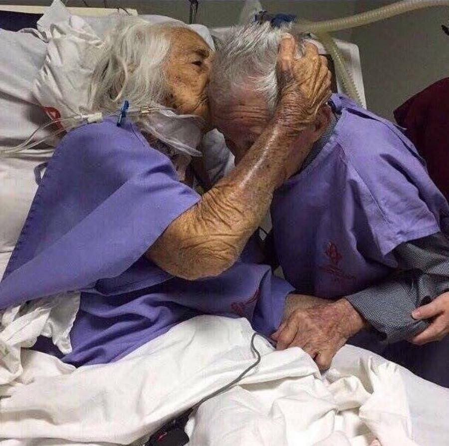 These Elderly Couple Photos Show That True Love Has No End-12