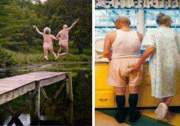 These Elderly Couple Photos Show That True Love Has No End