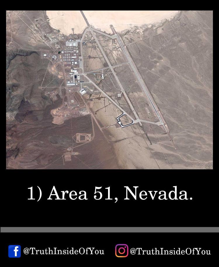 1. Area 51, Nevada