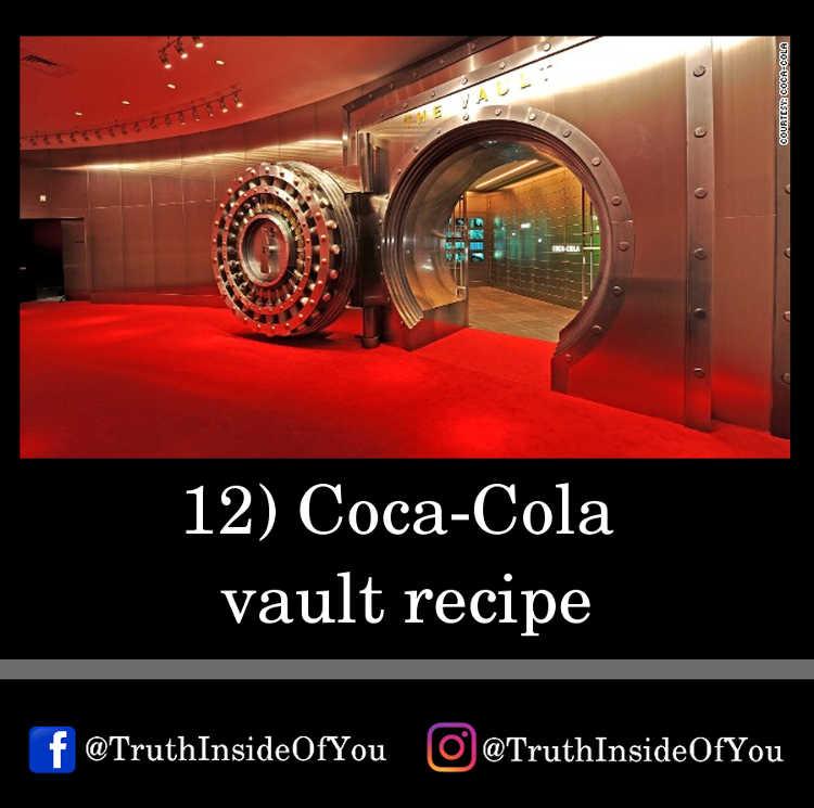 12. Coca-Cola vault recipe
