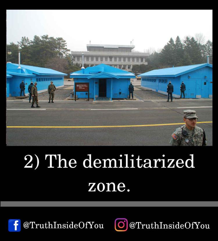 2. The demilitarized zone