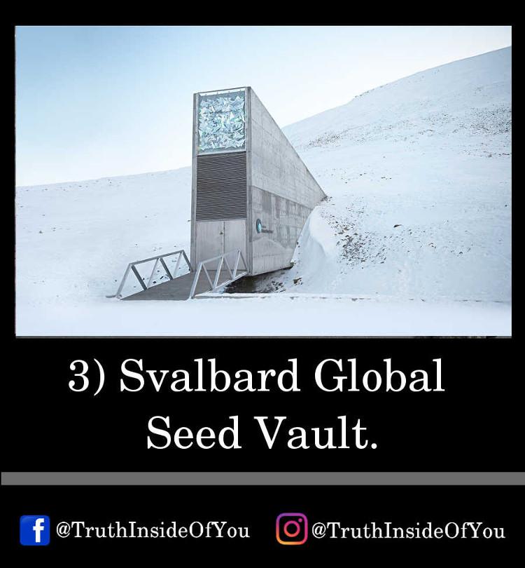 3. Svalbard Global Seed Vault