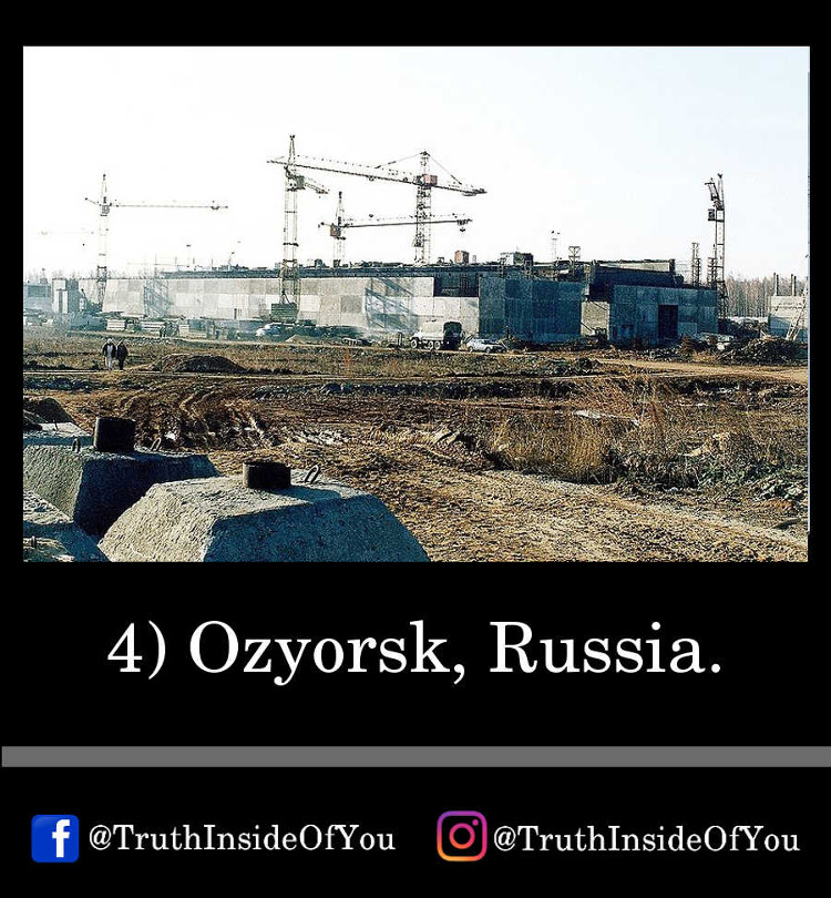 4. Ozyorsk, Russia