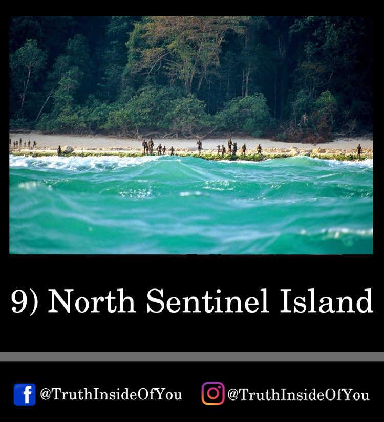 9. North Sentinel Island