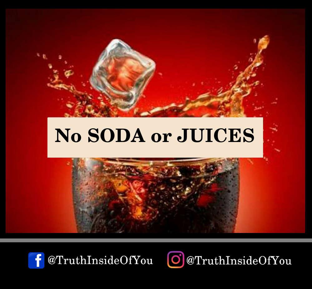 No SODA or JUICES