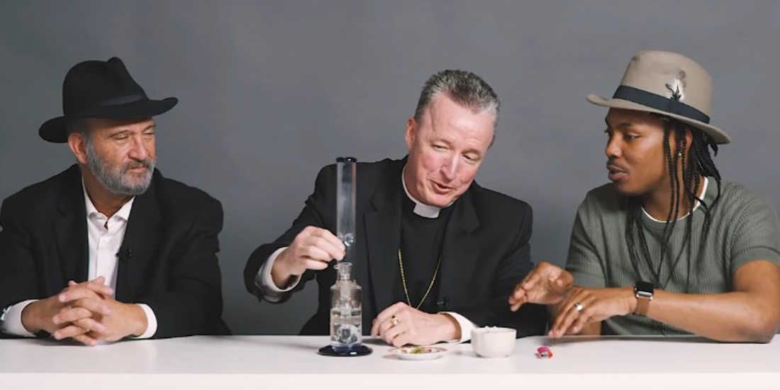 A Rabbi, a Priest And An Atheist Smoke Weed Together And Talk