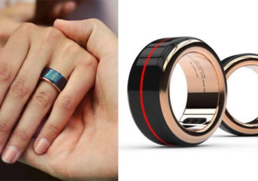 Feel Your Partner's Heartbeat Just By Tapping This Ring