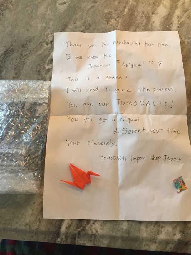 2. Origami Letter