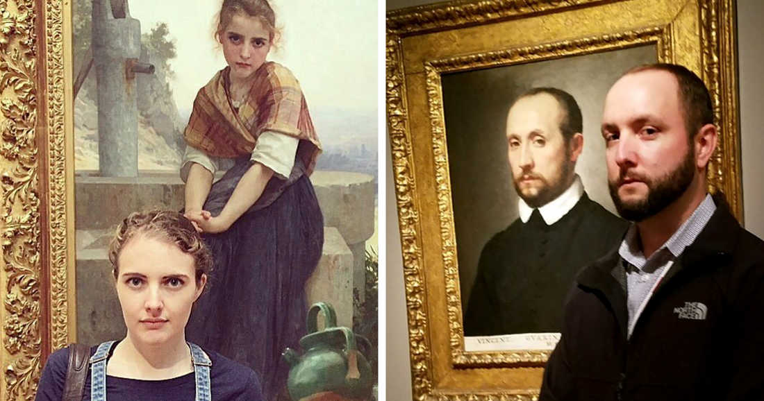 26 Surprised Visitors Discovered Their Doppelgänger In A Museum