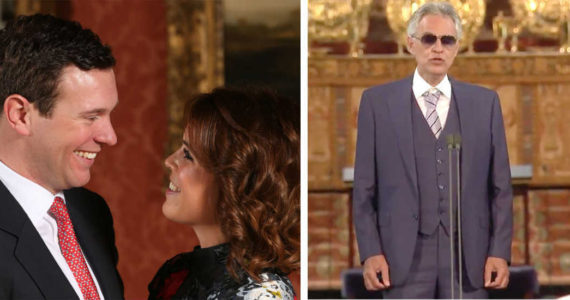 Andrea Bocelli Has An Amazing Performance At The Wedding Of Princess Eugenie