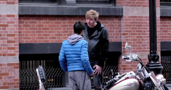 Bully Pushes A Nice Guy In New York Streets And He Instantly Regrets It