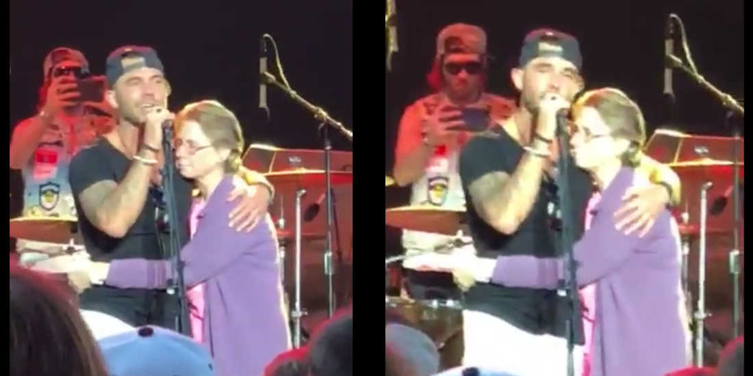 Country Singer Invites Mother Suffering From Alzheimer On Stage And Sings For Her