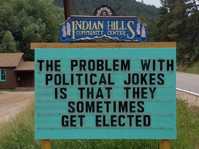 Funniest Signs Are Covering the Streets of Colorado - 1