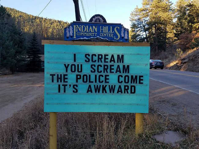 Funniest Signs Are Covering the Streets of Colorado - 11