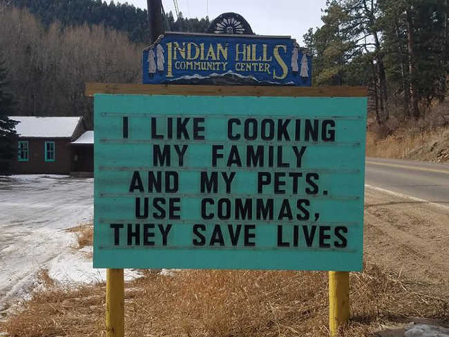 Funniest Signs Are Covering the Streets of Colorado - 12