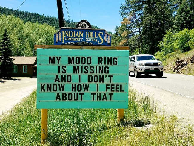 Funniest Signs Are Covering the Streets of Colorado - 17