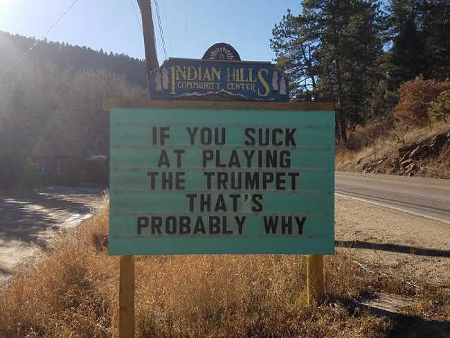 Funniest Signs Are Covering the Streets of Colorado - 22