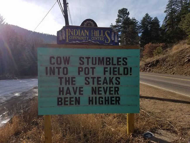 Funniest Signs Are Covering the Streets of Colorado - 23