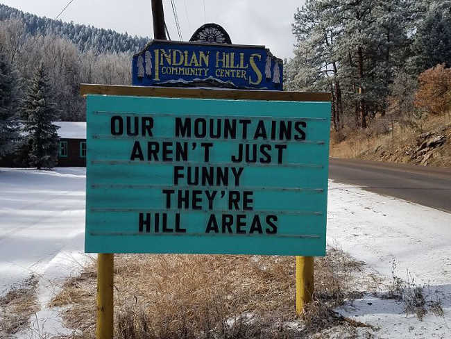 Funniest Signs Are Covering the Streets of Colorado - 3