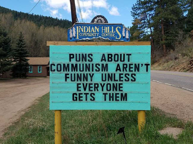 Funniest Signs Are Covering the Streets of Colorado - 5