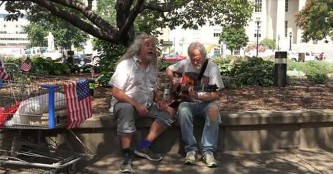 Homeless Herbie Voice Singing Hallelujah Will Give You Goosebumps-1