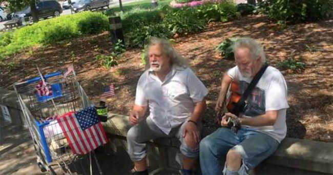 Homeless Herbie Voice Singing Hallelujah Will Give You Goosebumps-2