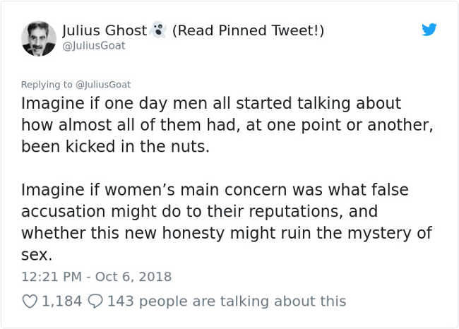 Man Explains Women's Rage Today Using 'Nut Kicking' Analogy So That All Men Can Understand It - 12