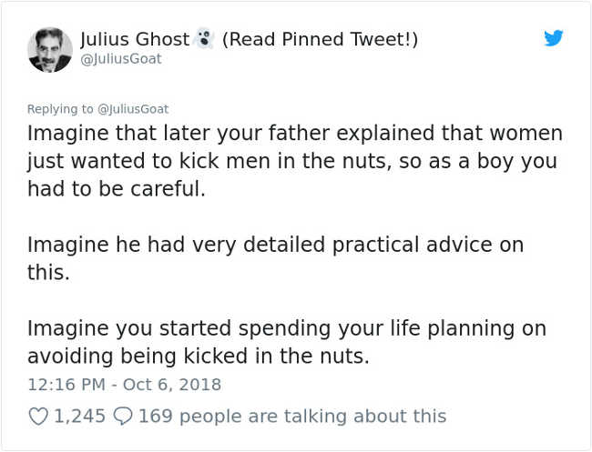 Man Explains Women's Rage Today Using 'Nut Kicking' Analogy So That All Men Can Understand It - 3