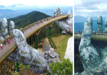 Spectacular Bridge in Vietnam Will Make You Feel like You Are in a Dreamland
