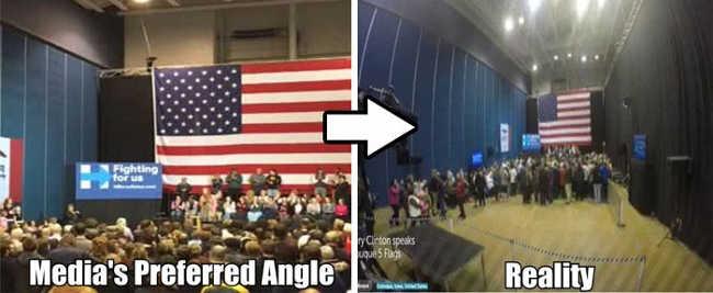 12. Again, A Rally For Hillary Clinton