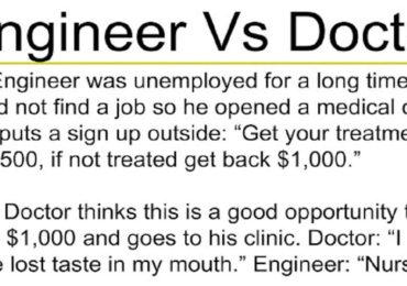 Engineer VS Doctor