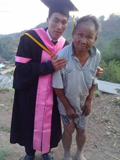 The Inspirational Story Behind This Photo Of A Poor Farmer & His Son - 1