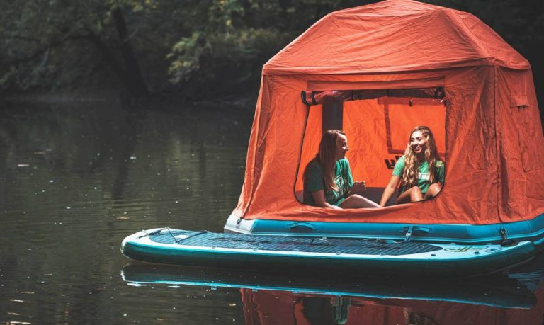 With The Worlds First Floating Tent You Can Live in Nature Forever - 1